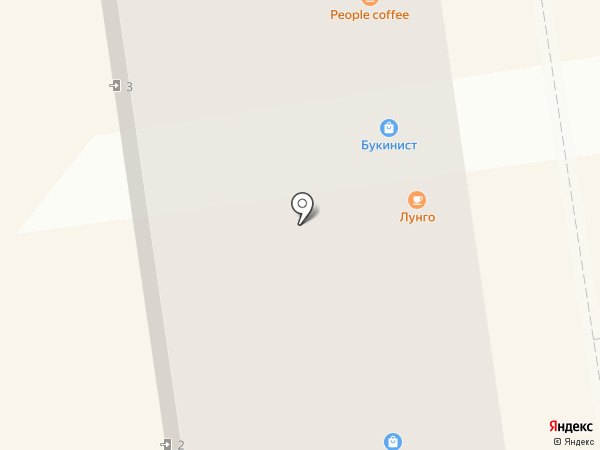 Губернский центр на карте Орла