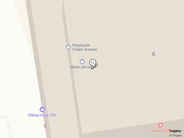 Экспресс радио-Орел на карте Орла