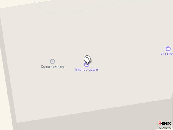 Модерн на карте Орла