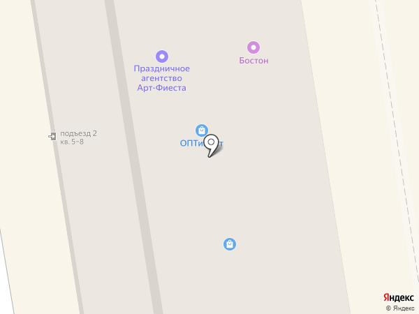 Арбат на карте Орла