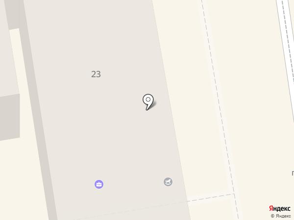 Участковый пункт полиции №1 на карте Орла