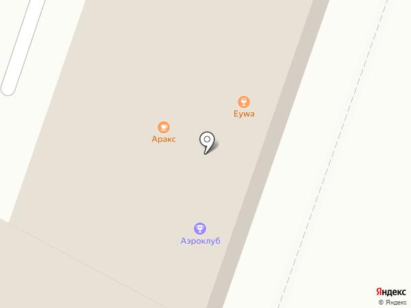 Центральный планерный аэроклуб, НОУ на карте Орла