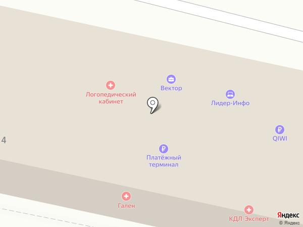 Логопедический кабинет на карте Орла