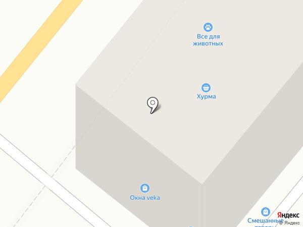 Магазин швейной фурнитуры на карте Орла