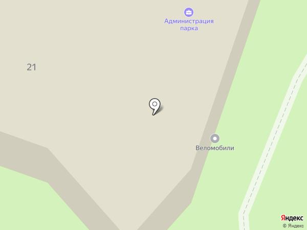 Детский парк на карте Орла