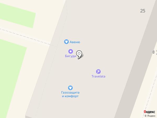 Авеню на карте Орла
