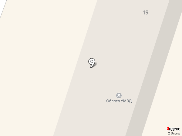 Батальон ППС на карте Орла