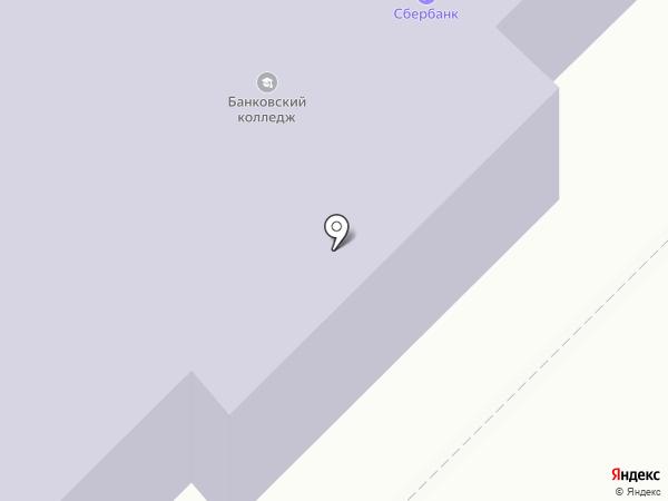 Орловская банковская школа (колледж) Центрального банка Российской Федерации на карте Орла
