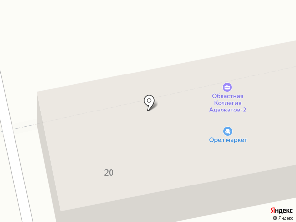 ЭнергоТрейд на карте Орла