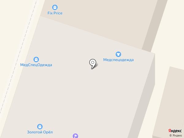 КУБ на карте Орла