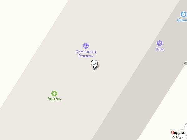 Марина на карте Орла
