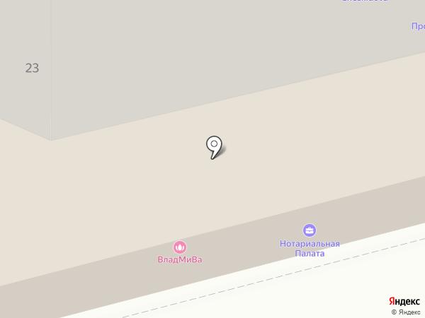 Орловская областная нотариальная палата на карте Орла