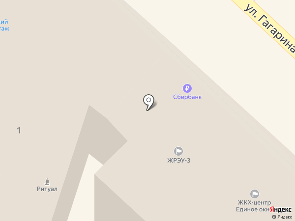 ЖРЭУ 3, ЗАО на карте Орла