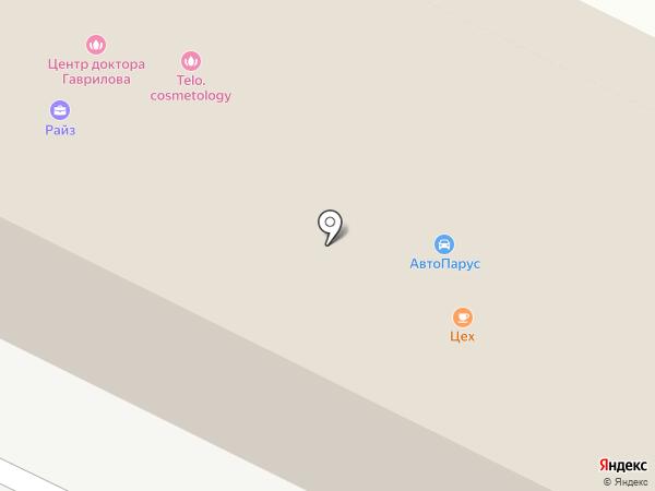РАЙЗ на карте Орла