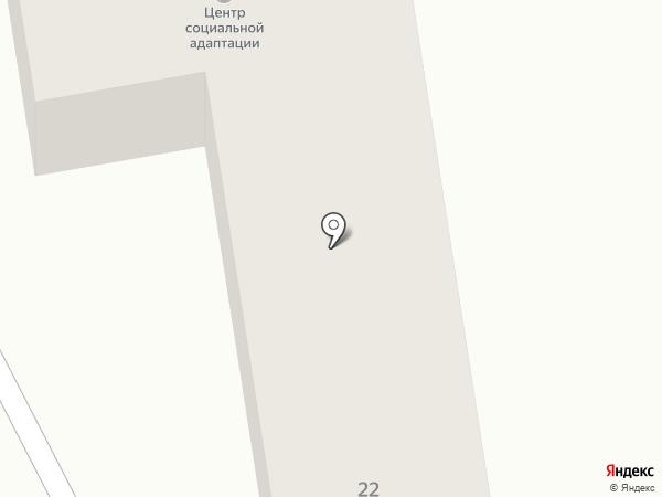 Центр социальной адаптации для лиц без определенного места жительства и занятий на карте Орла