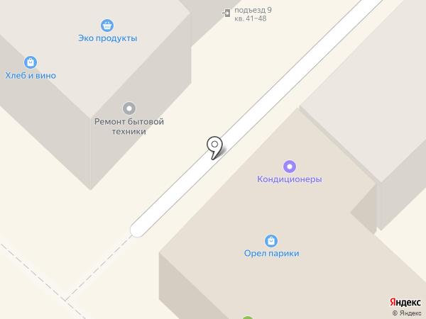 Магазин антенного оборудования на карте Орла