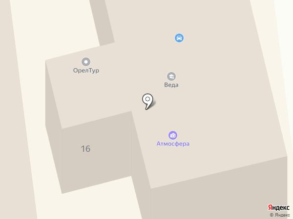 Эдлен на карте Орла
