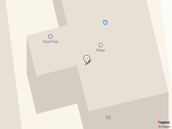ЭкспрессКредитСервис на карте Орла