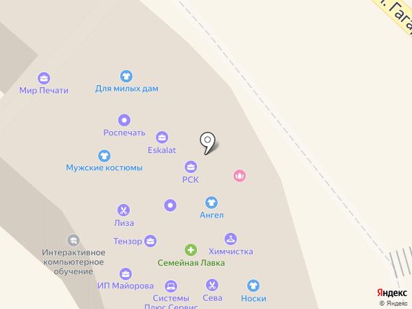 Орелроспечать, ЗАО на карте Орла