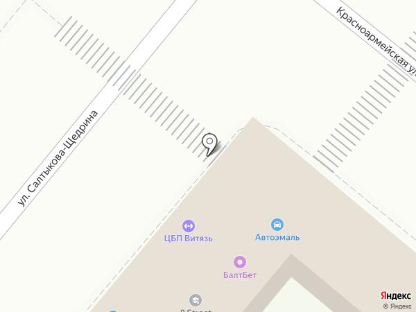 Магазин автоэмалей на карте Орла
