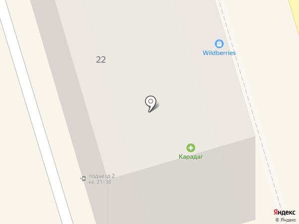 Карадаг, ЗАО на карте Орла
