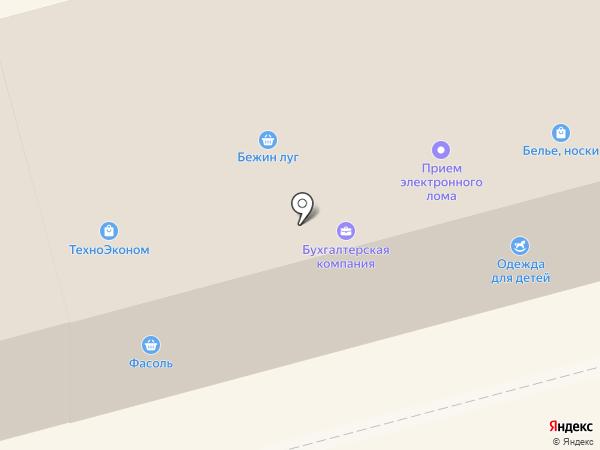 Магазин детской одежды на карте Орла