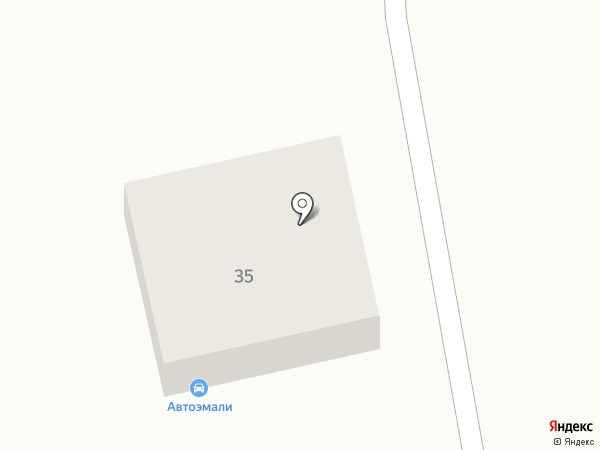 Красино на карте Орла