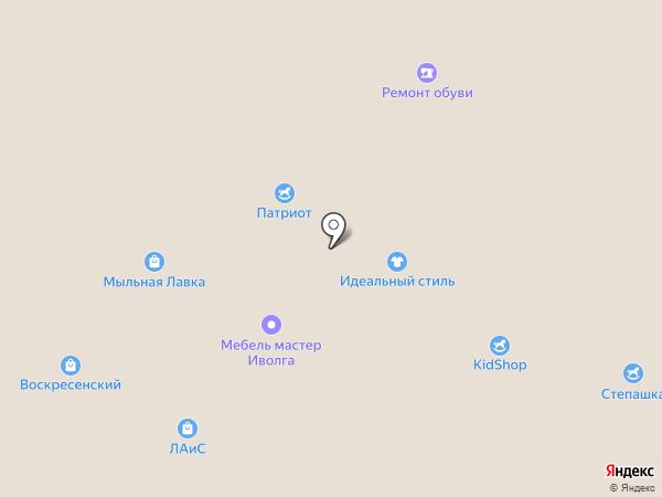 Степашка на карте Орла