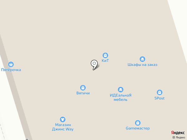 Веселый непоседа на карте Орла