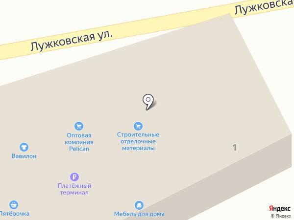 Орел-Импэкс на карте Орла