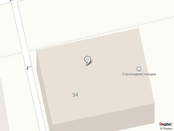 Орловская дезинфекционная станция на карте Орла