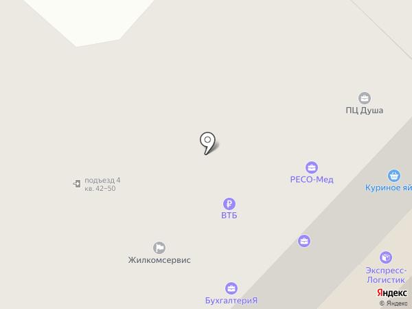 Банк ВТБ на карте Орла