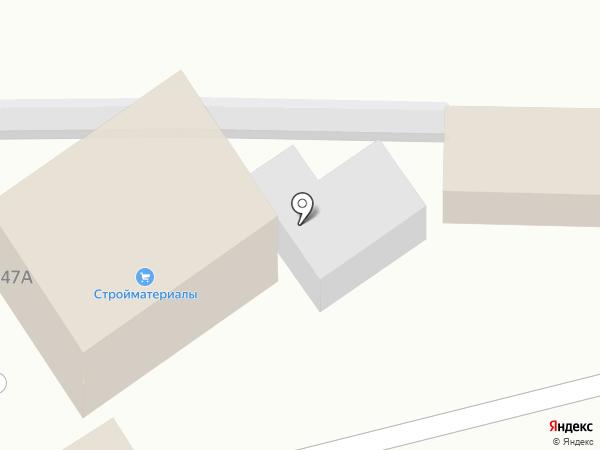 Сеть магазинов строительных и отделочных материалов на карте Курска