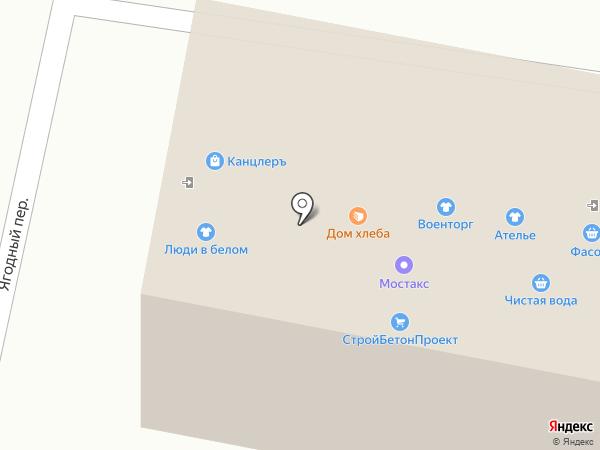Стройбетонпроект на карте Орла
