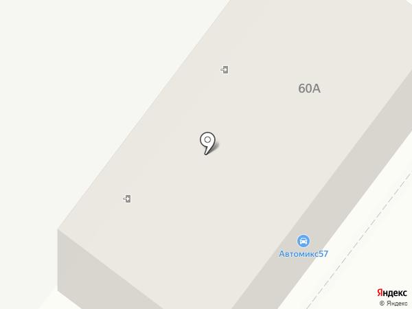 Кованый стиль на карте Орла