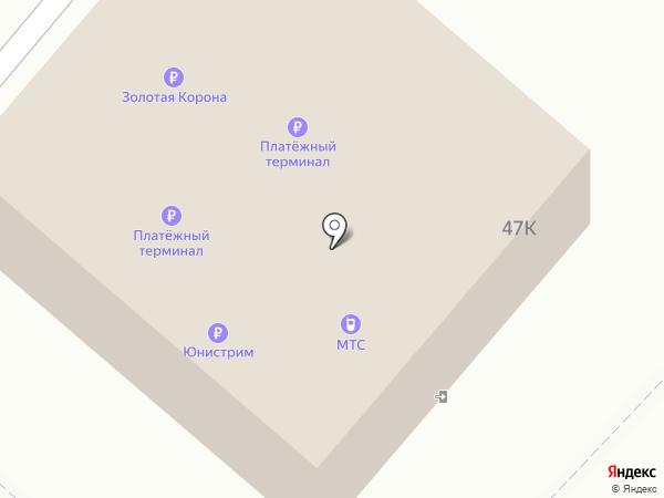 МТС на карте Орла