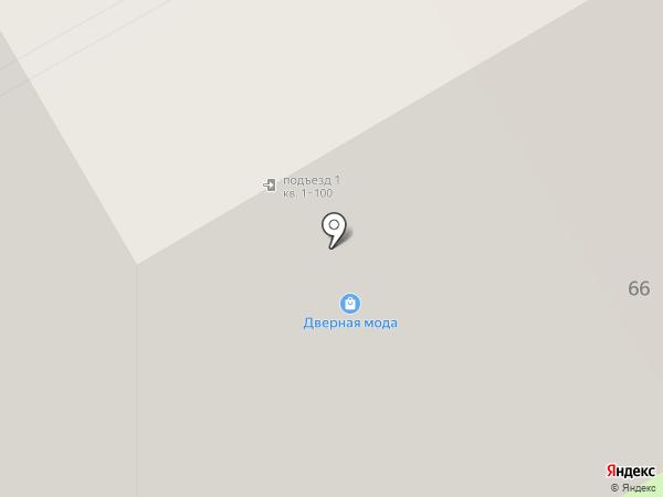 Дверная мода на карте Орла