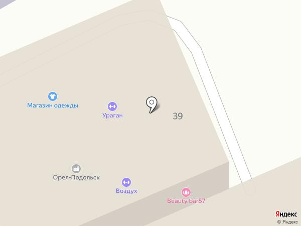 МАСТЕРИЦА на карте Орла