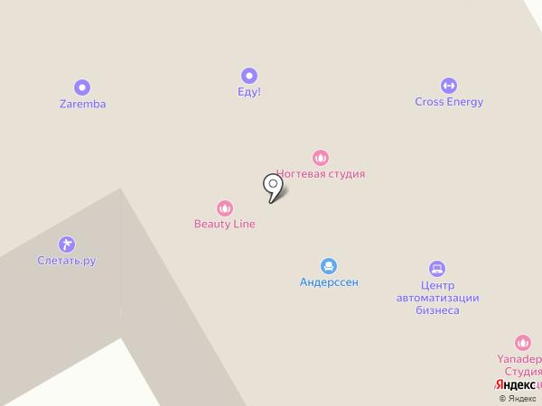 Цвет Диванов на карте Орла