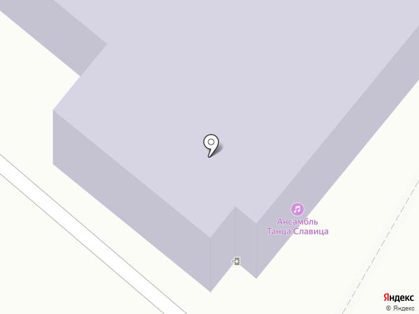Славица на карте Орла