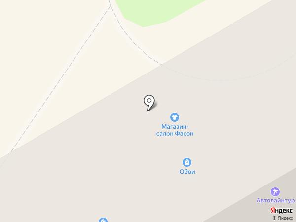 Мир тканей на карте Орла