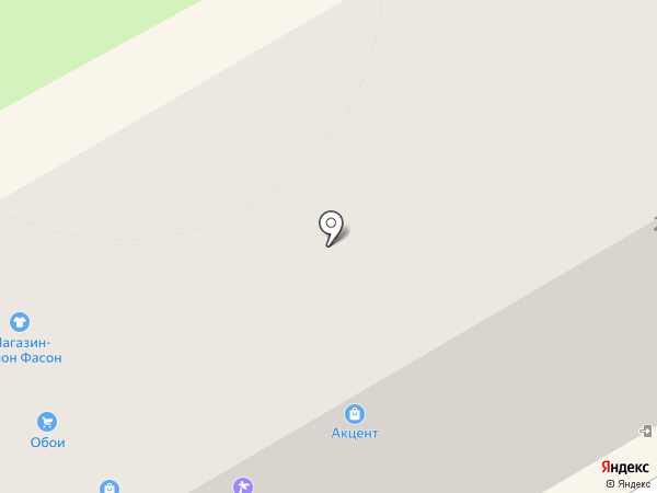 Фасон на карте Орла