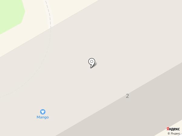 Красный шар на карте Орла