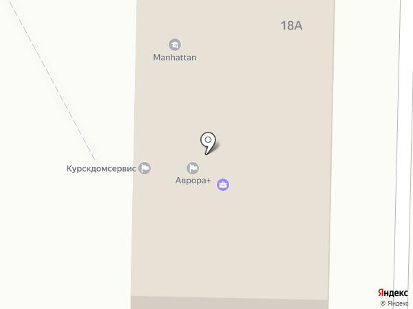 Орион на карте Курска