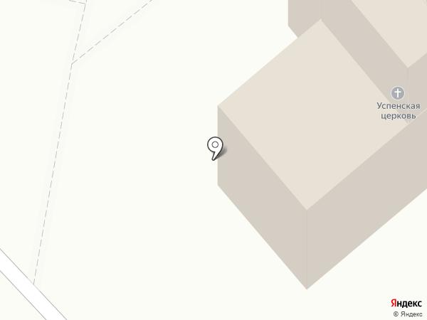 Церковь во имя Успения Пресвятой Богородицы на карте Орла