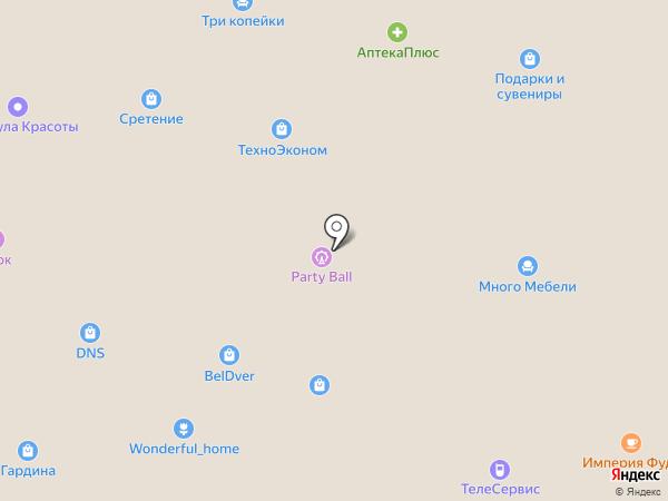 Торгово-сервисная компания на карте Орла