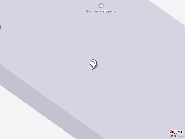 Орловская школа-интернат I-II вида для обучающихся на карте Орла
