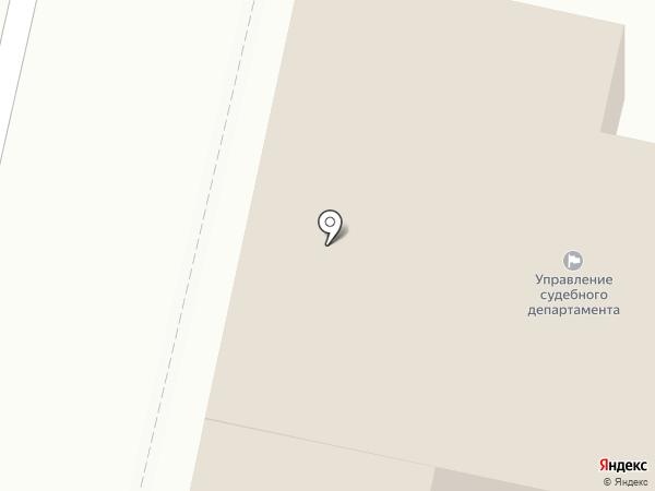 Управление Судебного департамента в Орловской области на карте Орла