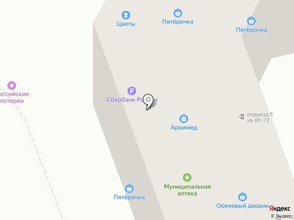 Архимед на карте Орла