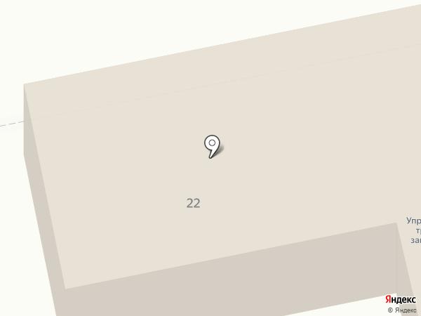Управление труда и занятости Орловской области на карте Орла